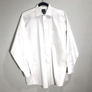 Jos A Bank white dress shirt, 16 1/2 -33